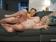 BRAZZERS Stepson Stuffs his Willy secure Vacuum?! :O