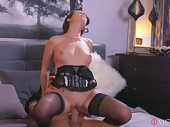 Housewife Carolina Gets Boned In Sexy Lingerie By Her Toyboy With Caroline Ardolino And Kristof Cale