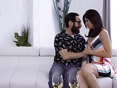 Brother's sexy wife India Summer turned out to be hot and insatiable