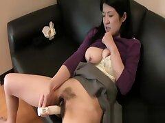 Satoko Miyazawa - Big Juggs JAV Milf Hairy Pussy Drilled Impenetrable depths