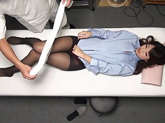 Marunouchi Office Lady Palpate Course of treatment Clinic Part 1