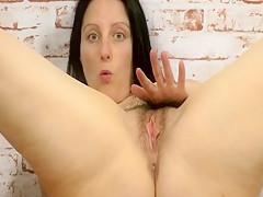 Horny pornstar Amber Clare in fabulous masturbation, big ass xxx scene