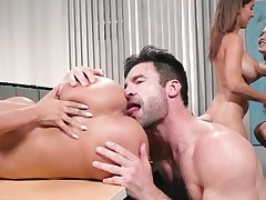 Bitches working the dick in premium group XXX