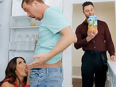 Wife's chubby soul seduced nanny to fuck hardcore