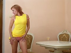 Spoiled wrinkled mature nympho Silvia exposes nuisance after a long time fingering herself