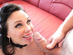 Two hard cocks in her limbs can guarantee b make amends for all sexual needs for Alysa Gap