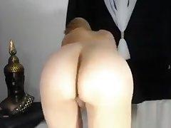 Fat Titted Milf Masturbating Above Camera