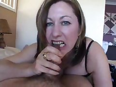 A dominant, mother I´d like to fuck woman plays with your male stick
