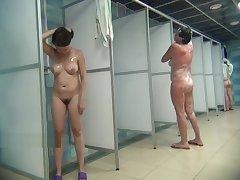 Hidden camera in mortality shower