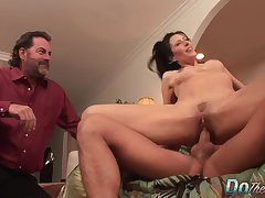 Wife Zoey Holloway Swaps Her Cuckold Husbands Flaccid Dick be beneficial to a  One