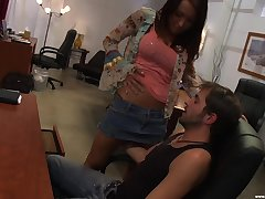 There is nothing better for Kristina Cross than a intercourse out of reach of the office ship aboard