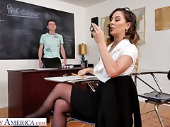 That pal has been a pain in be transferred to ass so hot professor decides to fuck him