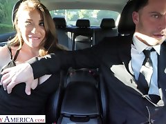 Whore wife Bianca Burke is cheating chiefly her skimp near his driver