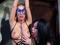 Spiderella Captured Drained By Vampirella