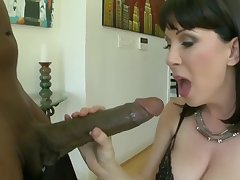 stunning cougar plus the biggest cock!!