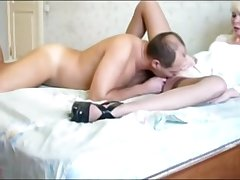 Blonde Mature Enjoys Pussy Have a passion With Older Guy