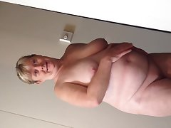 Horny bbw become man undressing on cruise reveals all