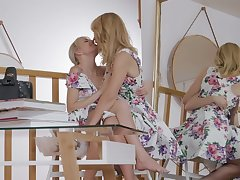 Forbidden passions for hottie Scarlett Calculating added to Mona Wales