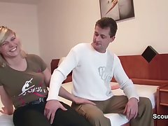 Mom and Dad Need Money and Vindicate Her First Porn be fitting of Germ