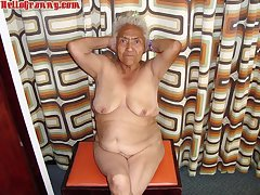 HelloGranny Arranged Elderly Chicks Pics Compilation