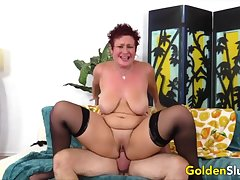 Golden Slut - Hot Mature Babes Fucking Compilation