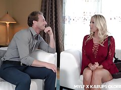 Wonderful busty MILF Katie Morgan is theorize cock riding expert