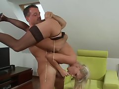 Nasty dwelling-place hardcore sex to grant the unreserved strapping anal orgasms