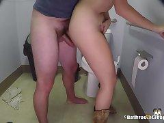 Public Bathroom Spy Cam 30 - Gigi