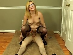 robot nerd - Homemade Coitus with mommy