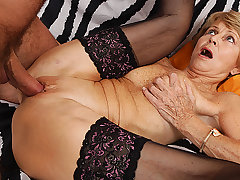 75 years old mom loves toyboy