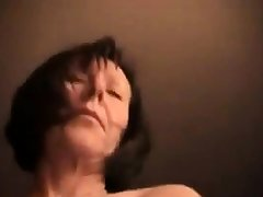 Hairy girls toothbrush wank with young guy
