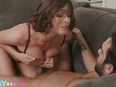 Hardcore going to bed all over the house with horny wife Krissy Lynn