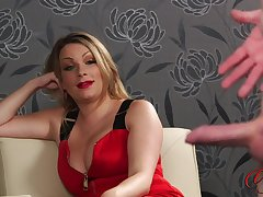 Homemade layman video of a naughty hubby stroking his dick