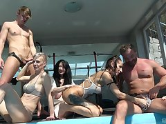 Gone away from gender in be imparted to murder pool with Valentina Sierra & Gabriela Sontagova