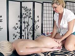 Vicky's massage - Cristi Ann!